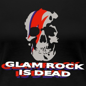 Glam Rock is dead BS T-Shirts - Women's Premium T-Shirt