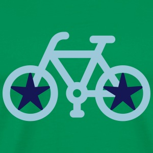 bicycle Star - Men's Premium T-Shirt