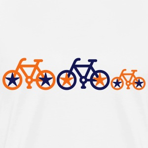 Bicycle_family - Men's Premium T-Shirt
