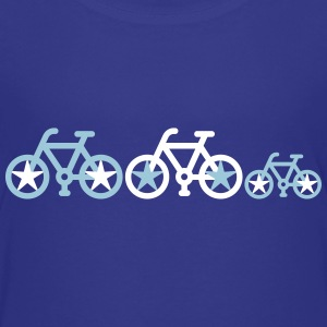 Bicycle_family - Kids' Premium T-Shirt