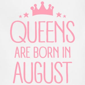 Queens Are Born In August Aprons - Adjustable Apron