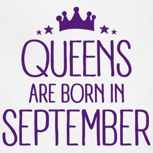 Queens Are Born In September Aprons - Adjustable Apron