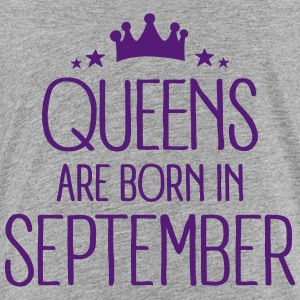 Queens Are Born In September Kids' Shirts - Kids' Premium T-Shirt