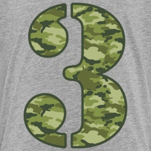 Green Camo 3rd Birthday T-Shirt - Toddler Premium T-Shirt