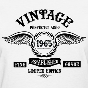 Vintage Perfectly Aged 1965 T-Shirts - Women's T-Shirt