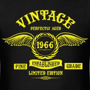 Vintage Perfectly Aged 1966 T-Shirts - Men's T-Shirt
