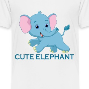 CUTE ELEPHANT - Kids' Premium T-Shirt
