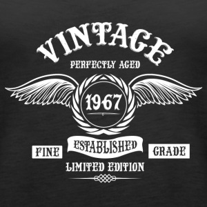 Vintage Perfectly Aged 1967 Tanks - Women's Premium Tank Top