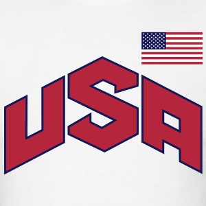 USA OLYMPICS SIGN - Men's T-Shirt