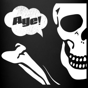 Aye! (dark) Mugs & Drinkware - Full Color Mug
