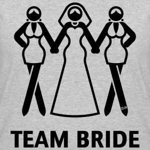 Team Bride (Hen Night, Bachelorette Party) T-Shirts - Women's 50/50 T-Shirt