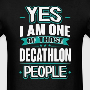 Decathlon Yes I am One of Those People T-Shirt T-Shirts - Men's T-Shirt