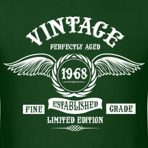 Vintage Perfectly Aged 1968 T-Shirts - Men's T-Shirt