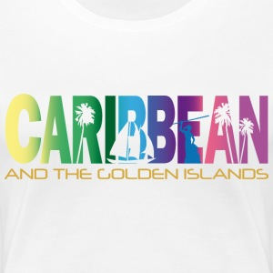 GOLDEN ISLANDS - Women's Premium T-Shirt