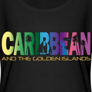 GOLDEN ISLANDS - Women's Flowy T-Shirt