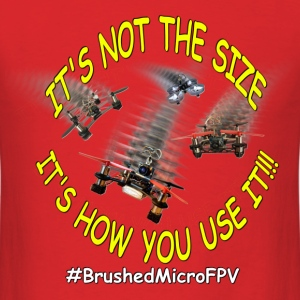 BrushedMicroFPV - Men's T-Shirt