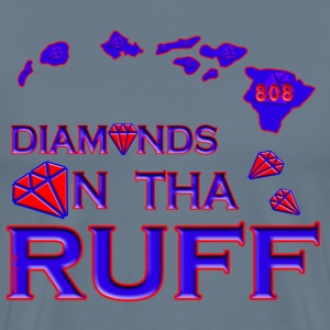 Diamonds In The Ruff 808 T-Shirts - Men's Premium T-Shirt
