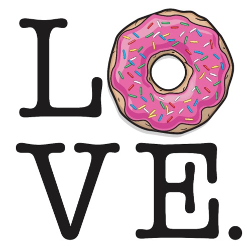 Donut Love Funny Food
