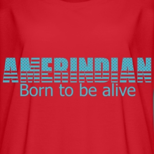 Born to be alive - Women's Flowy T-Shirt