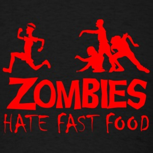 Zombie hate fast food