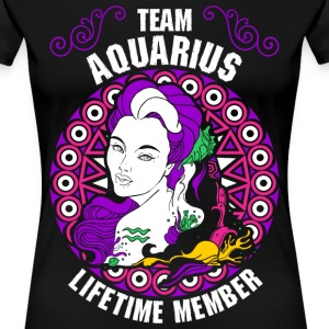 Team Aquarius Lifetime Member T-Shirts - Women's Premium T-Shirt