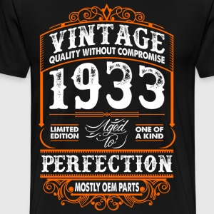 Vintage 1933 Perfection Mostly OEM Parts T-Shirts - Men's Premium T-Shirt