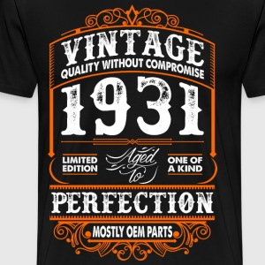 Vintage 1931 Perfection Mostly OEM Parts T-Shirts - Men's Premium T-Shirt