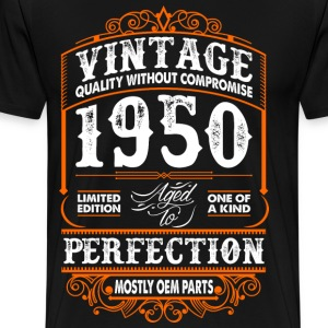 Vintage 1950 Perfection Mostly OEM Parts T-Shirts - Men's Premium T-Shirt