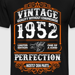 Vintage 1952 Perfection Mostly OEM Parts T-Shirts - Men's Premium T-Shirt