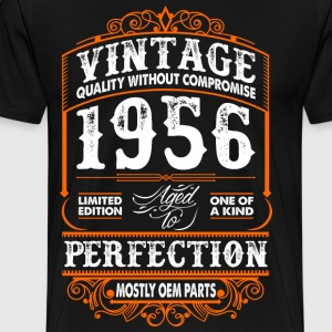 Vintage 1956 Perfection Mostly OEM Parts T-Shirts - Men's Premium T-Shirt