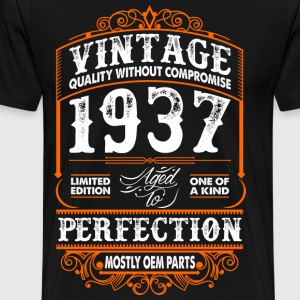 Vintage 1937 Perfection Mostly OEM Parts T-Shirts - Men's Premium T-Shirt