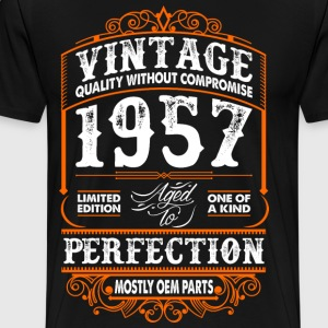 Vintage 1957 Perfection Mostly OEM Parts T-Shirts - Men's Premium T-Shirt