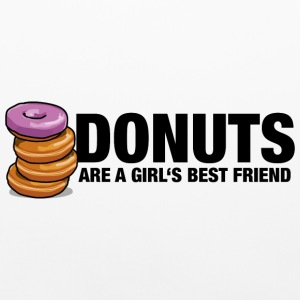 Donuts are a girl's best friend - Pillowcase