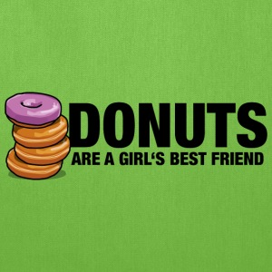 Donuts are a girl's best friend - Tote Bag