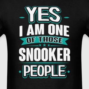 Snooker Yes I am One of Those People T-Shirt T-Shirts - Men's T-Shirt