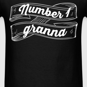 Granna - Number 1 Granna - Men's T-Shirt
