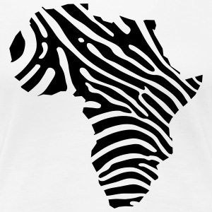 Africa zebra stripes - Women's Premium T-Shirt