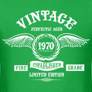 Vintage Perfectly Aged 1970 T-Shirts - Men's T-Shirt