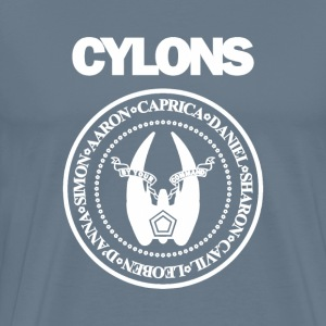 Cylons painting desig - Men's Premium T-Shirt