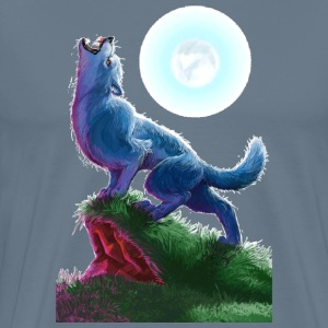 Werewolf painting des - Men's Premium T-Shirt