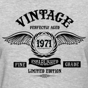 Vintage Perfectly Aged 1971 T-Shirts - Women's T-Shirt