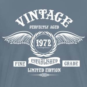 Vintage Perfectly Aged 1972 T-Shirts - Men's Premium T-Shirt