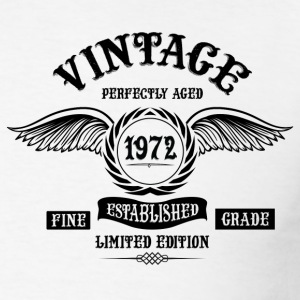 Vintage Perfectly Aged 1972 T-Shirts - Men's T-Shirt