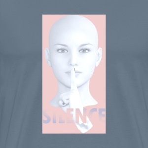 Silence painting art - Men's Premium T-Shirt