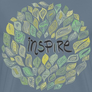 Inspire painting art - Men's Premium T-Shirt