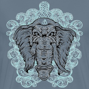 Ganesha painting desi - Men's Premium T-Shirt