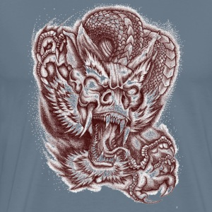 Wrath painting design - Men's Premium T-Shirt