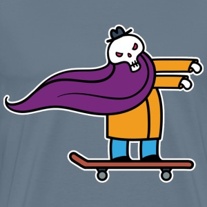 Undead skater paintin - Men's Premium T-Shirt
