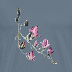 Tulip magnolia painti - Men's Premium T-Shirt
