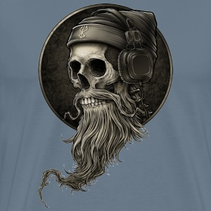 Beared skull painting - Men's Premium T-Shirt